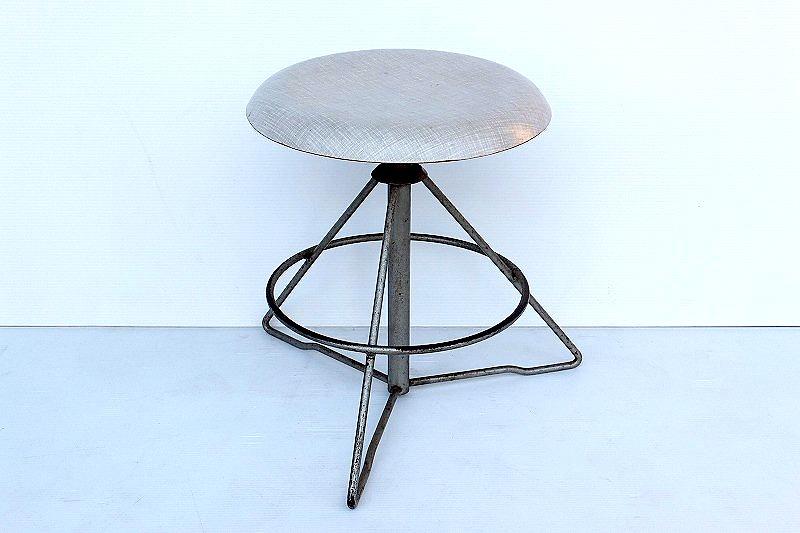 画像1: Metal stool SC-014