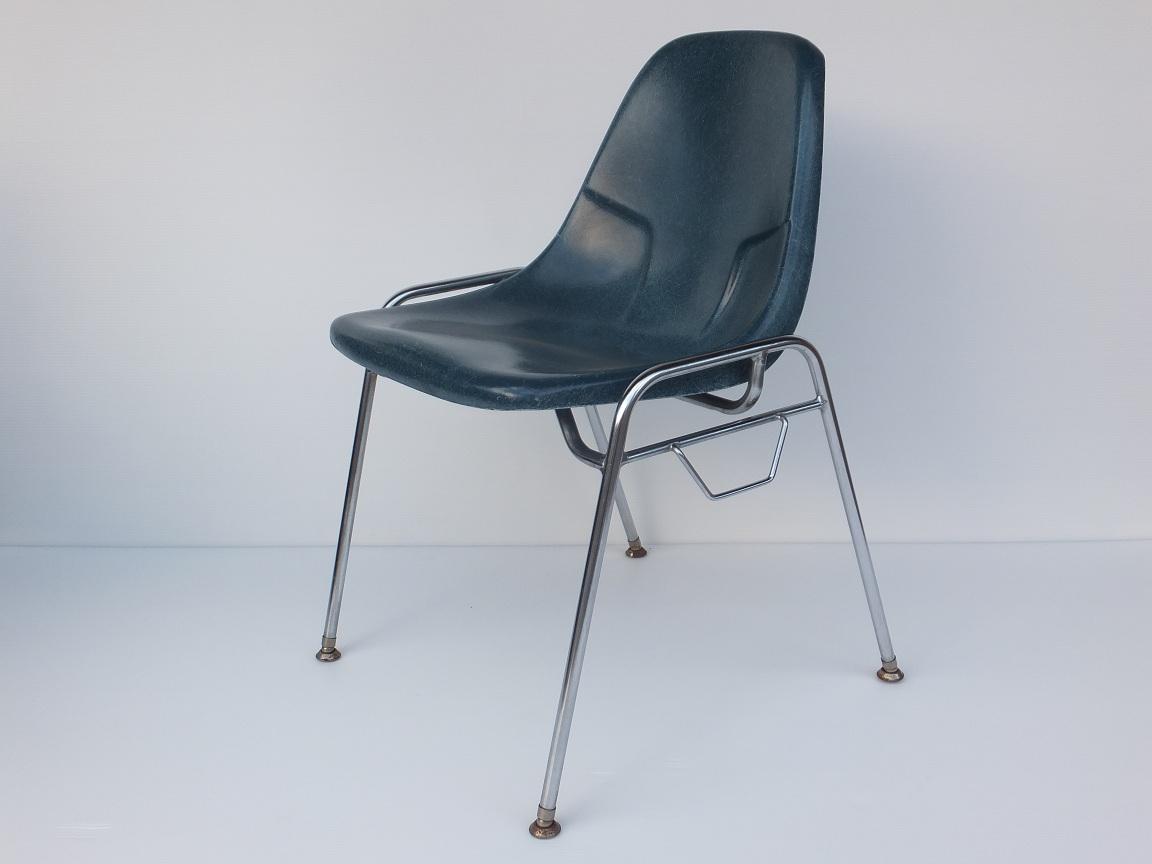 画像1: Stacking chair  SC-019