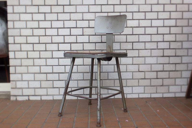 画像1: Metal chair SC-068