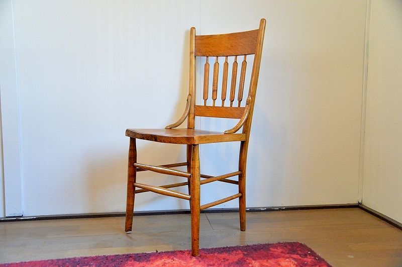 画像1: Wood Chair  RC-007