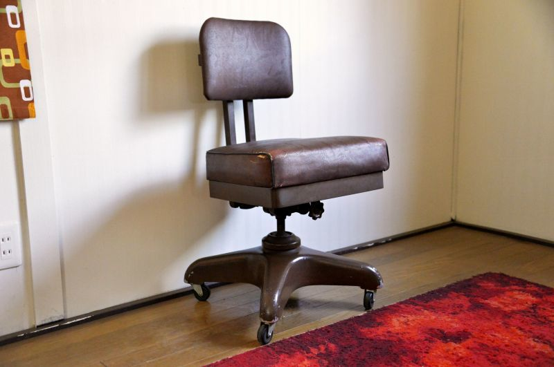 画像1: Desk chair   RC-018